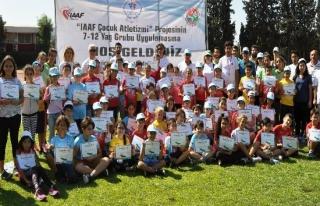 IAAF'tan Türkiye Çocuk Atletizmi Projesine büyük...