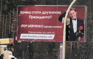 Seçim Kampanyasının Böylesi: Ukrayna Devlet Başkan...