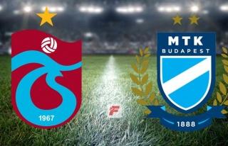 Trabzonspor - MTK Budapeşte maçı hangi kanalda,...