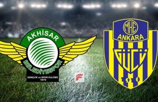 Akhisarspor - Ankaragücü maçı hangi kanalda, saat...
