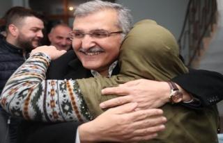 Beykoz'da Murat Aydın'ın evine gittiği Emine teyze...