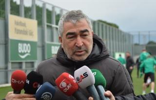 Bursasporda son dakika Samet Aybaba idmana çıkmadı