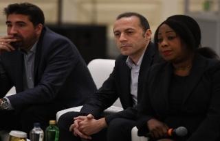 Cüneyt Çakır, FIFA Futbol Yönetim Zirvesi'nde...