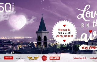 Love Is In The Air Party by Senem Selimi