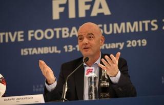 FIFA Başkanı Infantino: Eskiden hakemlerin suçuydu...