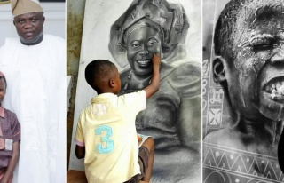 Nijerya'nın 12 Yaşındaki 'Leonardo da Vinci'si:...