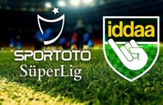 Süper Ligde İddaa şampiyonluk oranları güncellendi!