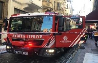 Beyoğlu'nda otelde yangın paniği