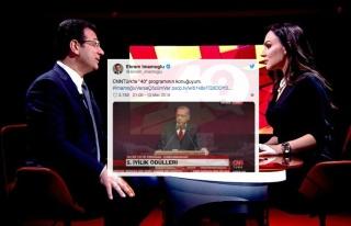 İmamoğlu'nun CNN Türk'te Konuk Olduğu '40' Programı...