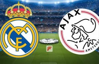 Real Madrid - Ajax maçı hangi kanalda, saat kaçta?