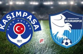 Kasımpaşa - Erzurumspor maçı hangi kanalda, saat...
