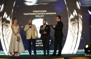 Türkiye'nin tanıtımına katkılarından dolayı:...