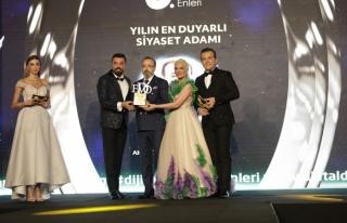 Yılın en duyarlı siyaset adamı: Mustafa Yel /...