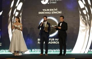 Yılın en iyi deri halı zinciri: Bienna Fur Halı...