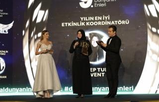 Yılın en iyi etkinlik koordinatörü: Zeynep Turan...