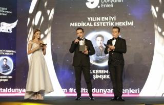 Yılın en iyi medikal estetik hekimi: Dr. Kerem Cem...