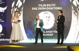 Yılın en iyi saç ekim doktoru: Dr. Selahattin Tulunay...
