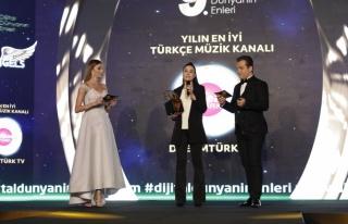 Yılın en iyi Türkçe müzik kanalı: Dreamtürk...