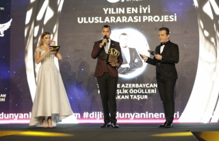 Yılın en iyi uluslararası projesi: Türkiye Azerbaycan...