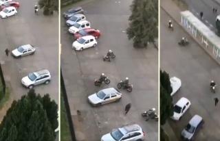 5 Polisi Etrafında Dört Döndürerek Yakalanmadan...