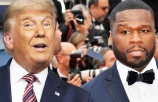 50 Cent: Trump onu desteklemem için 1 milyon dolar...