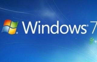 6 milyon 'Windows 7' kullanıcısına kötü haber
