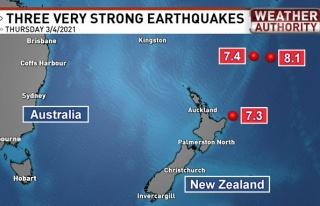 7.3, 7.4 Şimdi de 8.1: Art Arda Depremlerle Sarsılan...