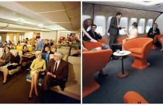 70'li Yıllarda Uçakların ve Uçmak Deneyiminin...