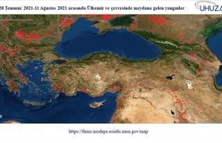 85 Bin Futbol Sahası Büyüklüğünde! Akdeniz ve...