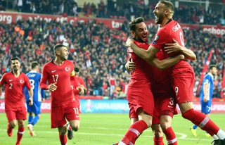 A Milli Futbol Takımı, dünya sıralamasında yerini...