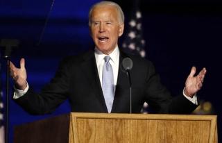 ABD başkanlığına seçilen Biden zafer konuşması...