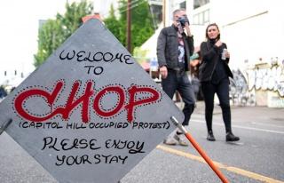ABD'de protestocuların özerk bölge ilan ettiği...