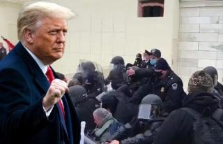 ABD'de seçim kaosu! Trump destekçileri Kongre binasını...