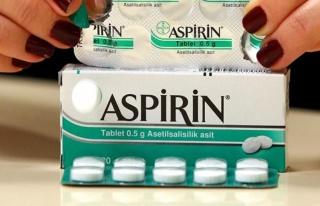 ABD'den aspirinle ilgili ezber bozan açıklama: Yan...