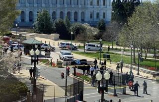 ABD Kongre binasından silah sesleri yükseldi, bina...