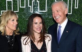 ABD'nin yeni başkanı Biden'ın kızı Ashley Biden,...