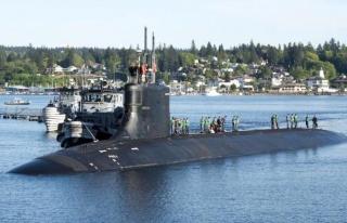 ABD nükleer denizaltısı Güney Çin Denizi'nde...