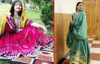 Afgan kadınlar #KıyafetimeDokunma kampanyası ile...