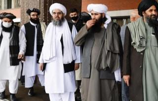 Afganistan'da kontrolü ele geçiren Taliban'ın hükümeti...