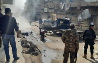 Afrin'de bombalı saldırı