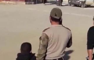 Afrin'de halkın yoğun olduğu bölgede bombalı...
