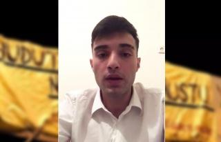 Ahmet Çakmak: 'Videoyu, Ülkü Ocakları Genel Merkezi'nde...