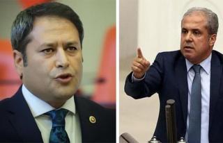 AKP Milletvekili Şahin ile Şamil Tayyar Sosyal Medyadan...