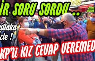 AKP'yi Destekleyici Sözler Söyleyen Kadını Sus...