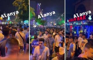 Alanya'da Sokakta Kaydedilen ve 1 Erkeğe 100 Erkeğin...