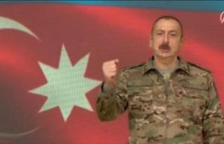 Aliyev, Azerbaycan Ordusunun Şuşa Kentini İşgalden...