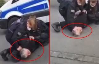 Almanya'da polisin Türk iş insanına uyguladığı...