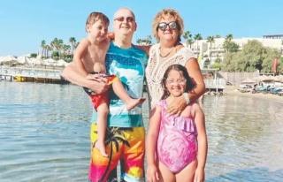 Almula Merter Churm Bodrum'da aile saadeti yaşıyor