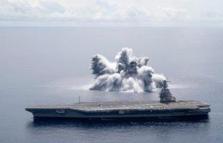 Amerikan Donanmasının 18 Tonluk Patlayıcıyla Gerçekleştirdiği...