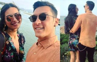 Amine Gülşe'den eşi Mesut Özil'e bebek mesajı:...